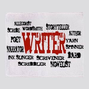 They call me Writer Throw Blanket