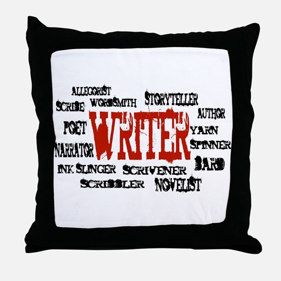 They call me Writer Throw Pillow