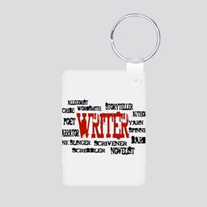 They call me Writer Aluminum Photo Keychain