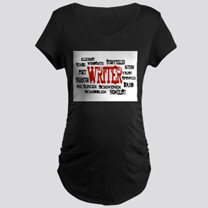 They call me Writer Maternity Dark T-Shirt
