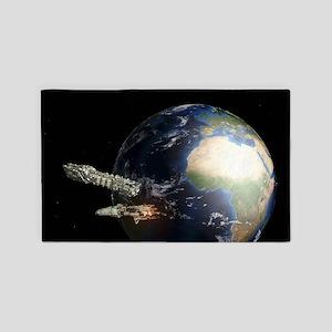 Spaceships 3'x5' Area Rug