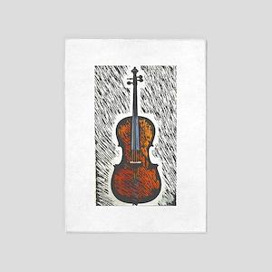 Excellent Large Cello Design Rug