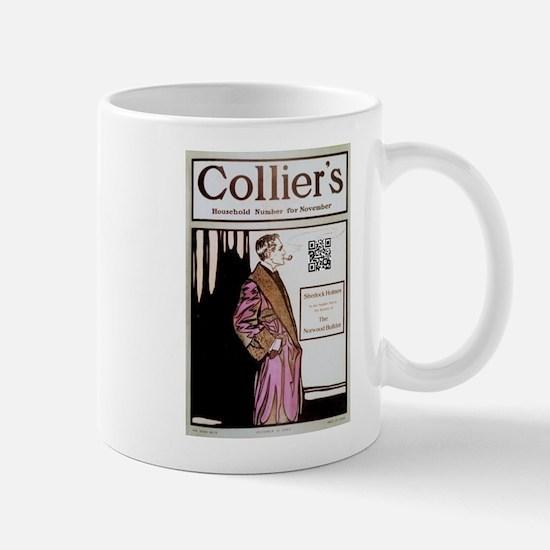 Sherlock Holmes QR Magazine Mug