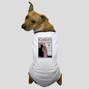 Sherlock Holmes QR Magazine Dog T-Shirt