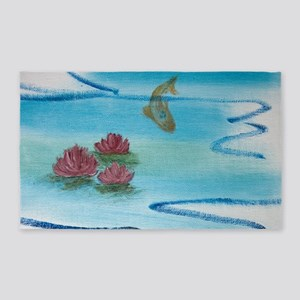 Lily Pond 3'x5' Area Rug