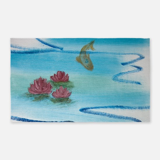 Lily Pond 3'x5' Area Rug
