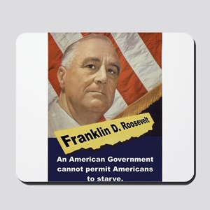 An American Government - FDR Mousepad