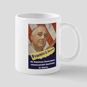 An American Government - FDR 11 oz Ceramic Mug