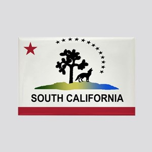 Flag of South California Rectangle Magnet