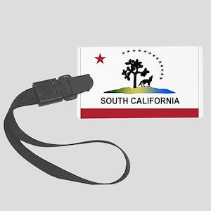 Flag of South California Large Luggage Tag