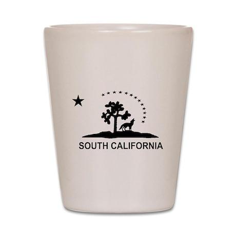South California Shot Glass