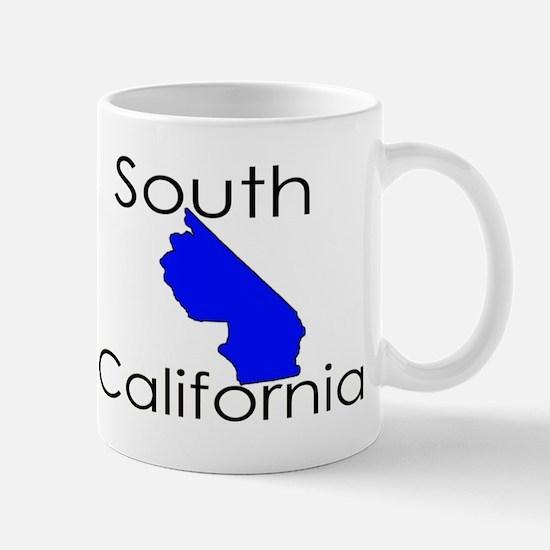 South California Blue State Mug