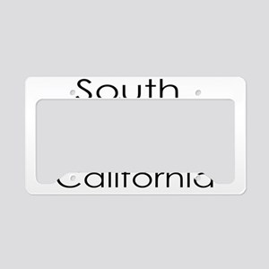 South California Blue State License Plate Holder
