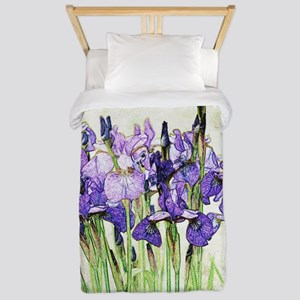 Irises Twin Duvet