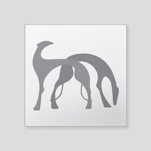 """Hounds Decal 3"""" x 3"""" Graphite"""