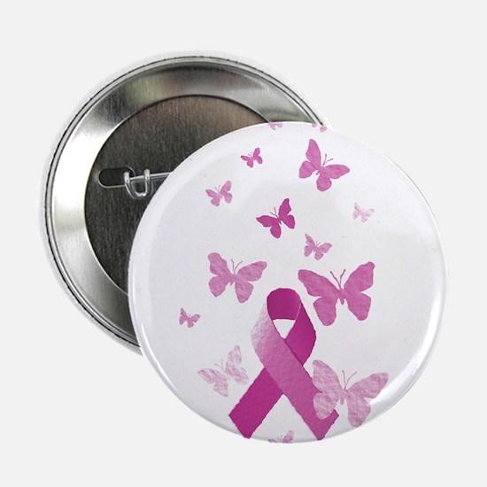 "Pink Awareness Ribbon 2.25"" Button (100 pack)"