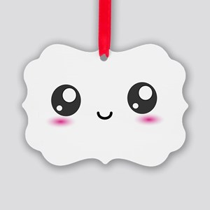 Japanese Anime Smiley Picture Ornament