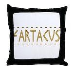 Fartacus Throw Pillow