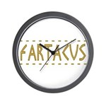 Fartacus Wall Clock