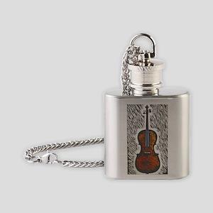 Cello2 Flask Necklace