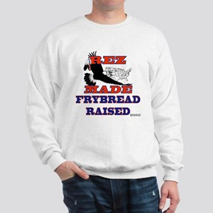"""Rez Made FryBread Raised"" Sweatshirt"