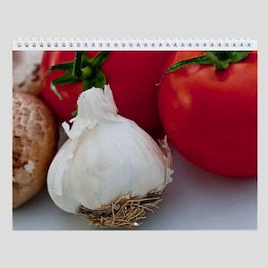 Organic Foods Wall Calendar