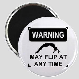Warning may flip Magnet
