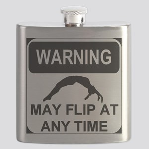 Warning may flip Flask