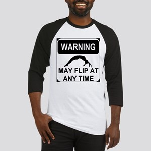 Warning may flip Baseball Jersey