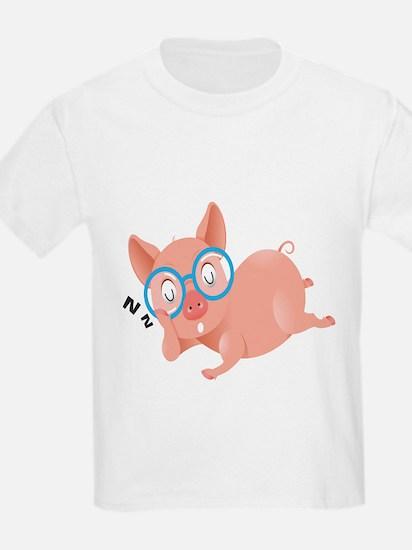 The Sleeping Pig Kids Shirt T-Shirt