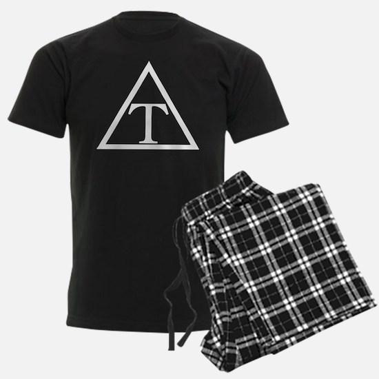 Triangle Fraternity Badge Pajamas