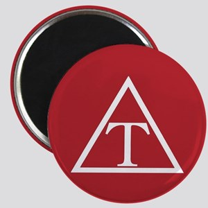 Triangle Fraternity Badge Magnet