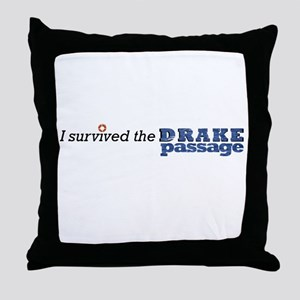 I survived the Drake Passage Throw Pillow