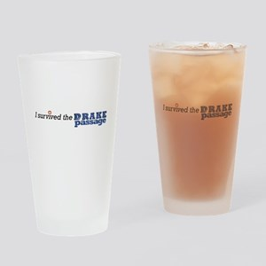 I survived the Drake Passage Drinking Glass