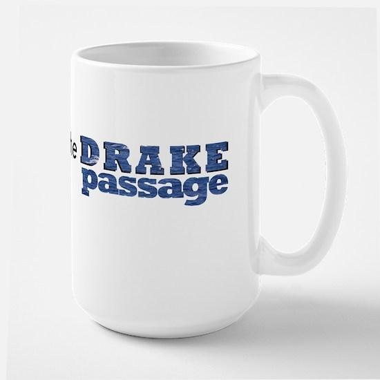 I survived the Drake Passage Large Mug