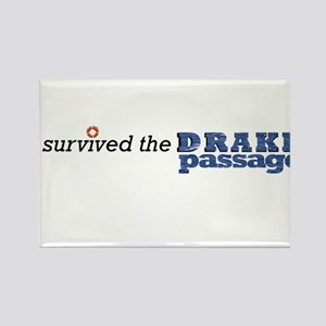 I survived the Drake Passage Rectangle Magnet