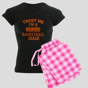 Trust Me Im a Basketball Coach Women's Dark Pajama