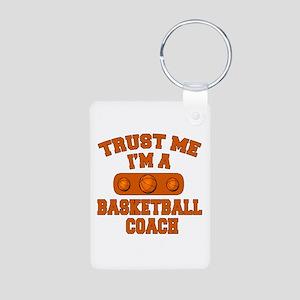 Trust Me Im a Basketball Coach Aluminum Photo Keyc