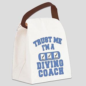 Trust Me I'm a Diving Coach Canvas Lunch Bag