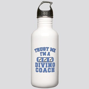 Trust Me I'm a Diving Coach Stainless Water Bottle