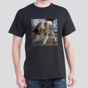 Alaskan Malamute Power Dark T-Shirt