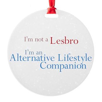 Alt. Lifestyle Companion Round Ornament