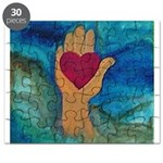 Heart in Hand Puzzle