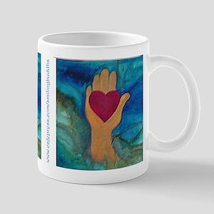 Heart in Hand Mug
