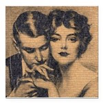 Skin You Love to Touch Square Car Magnet 3