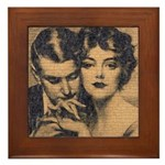 Skin You Love to Touch Framed Tile
