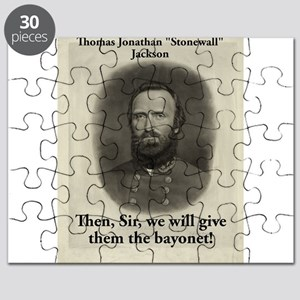 Then Sir We Will Give - Stonewall Jackson Puzzle