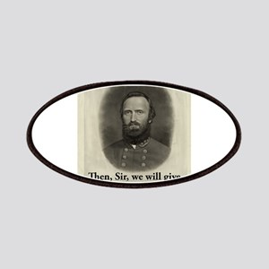 Then Sir We Will Give - Stonewall Jackson Patch