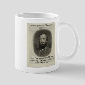 Our God Was My Shield - Stonewall Jackson 11 oz Ce