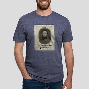 Nothing Justifies Profanity - Stonewall Jackson Me